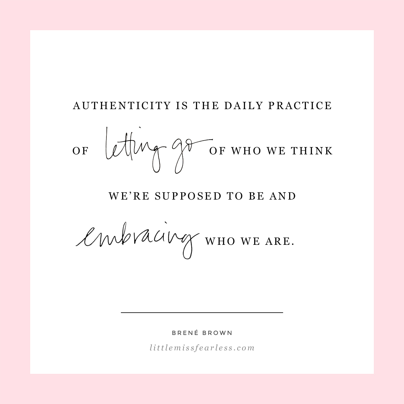 Cultivating Authenticity: What Does it Mean to be Authentic? | Little Miss Fearless