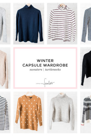 My Final Winter Capsule Wardrobe | Little Miss Fearless