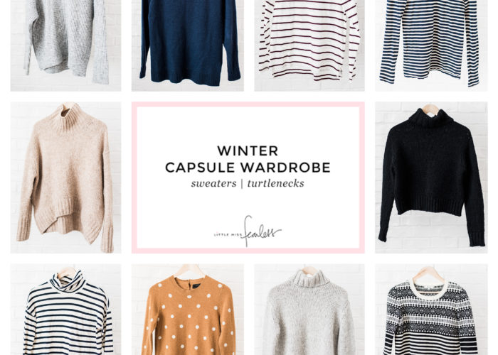 My 2018 Winter Capsule Wardrobe