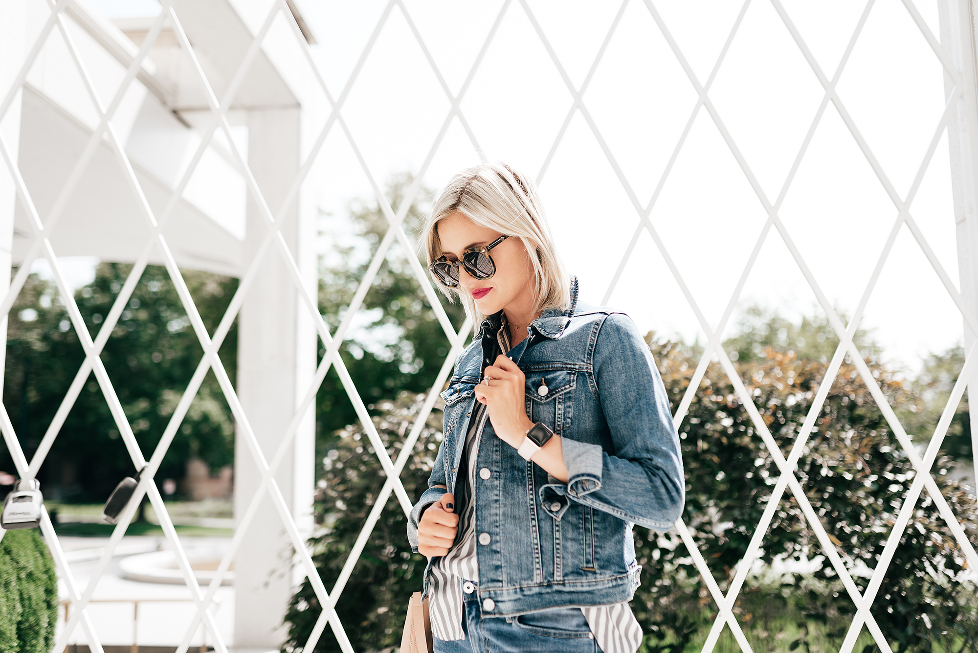 Affordable Fall Denim And Two Ways To Wear | Little Miss Fearless