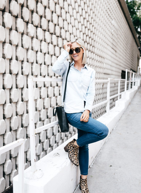 Affordable Fall Denim And Two Ways To Wear   Little Miss Fearless