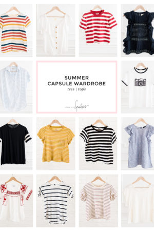 My 2018 Summer Capsule Wardrobe | Little Miss Fearless
