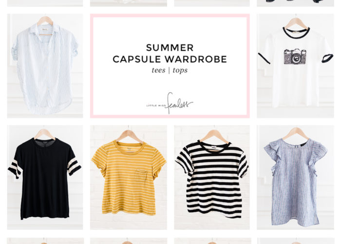 My 2018 Summer Capsule Wardrobe