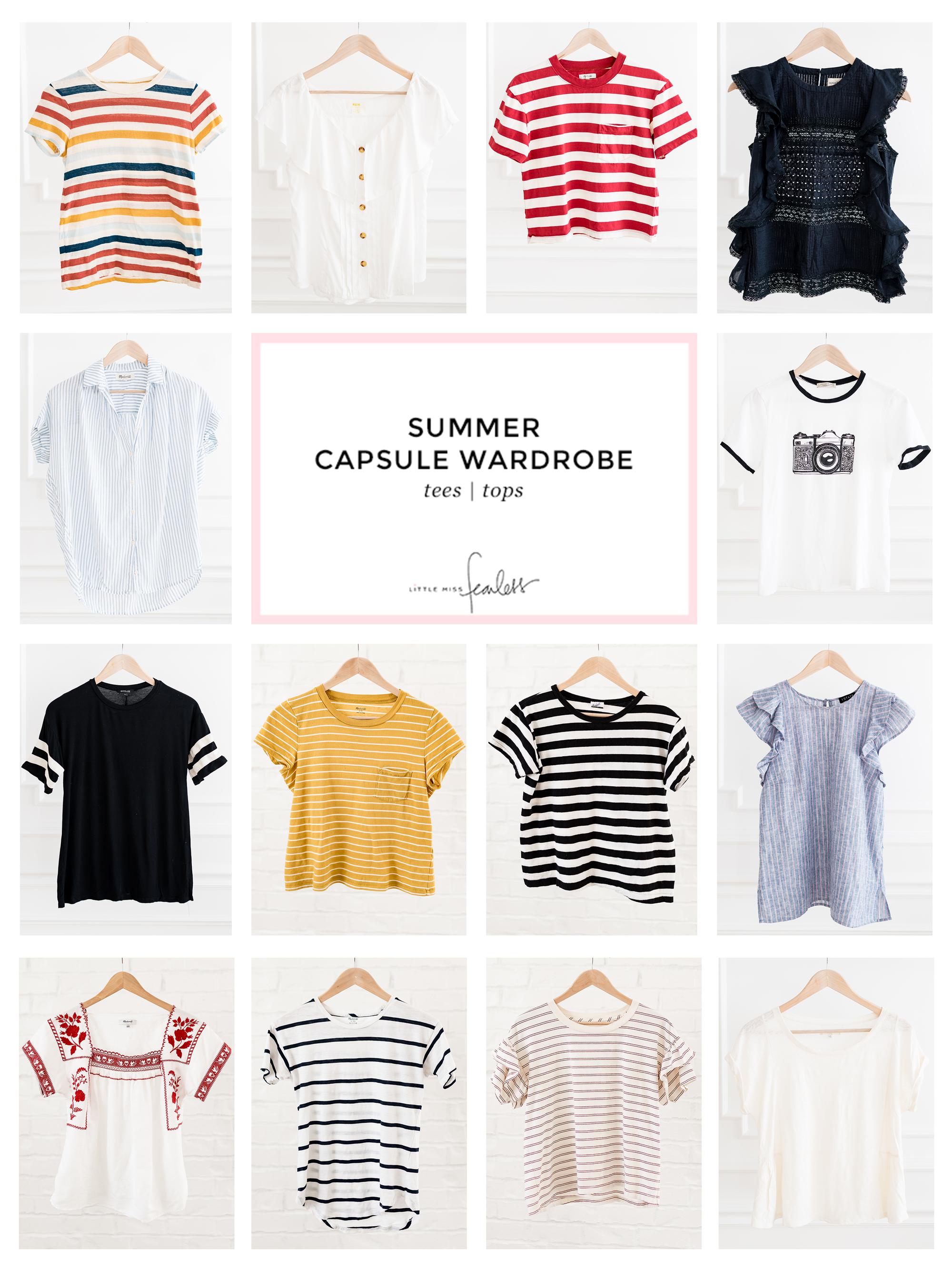 My 2018 Summer Capsule Wardrobe | Little Miss Fearless