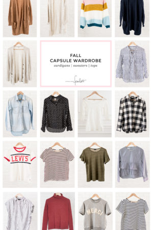 My 2018 Fall Capsule Wardrobe | Little Miss Fearless