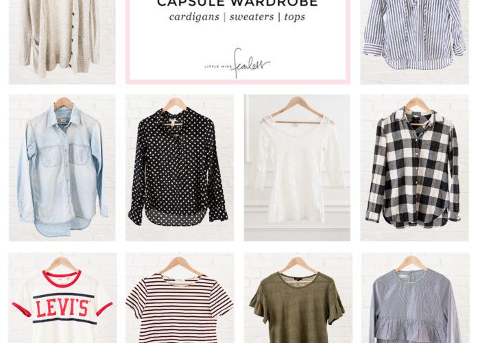 My 2018 Fall Capsule Wardrobe