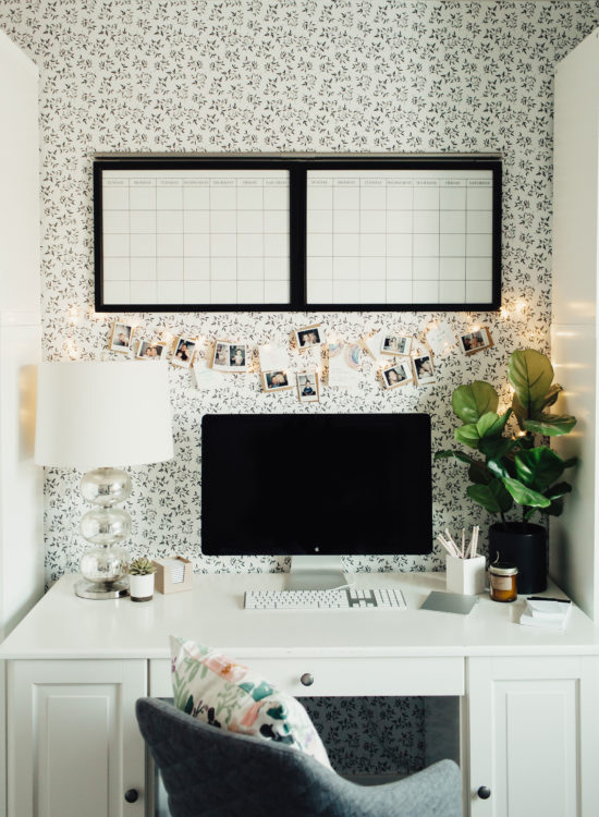 How to Give Your Home Office a Simple Refresh That Will Boost Creativity | Little Miss Fearless