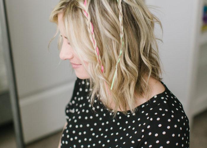 Moroccan Braids and Beachy Waves Hair Tutorial