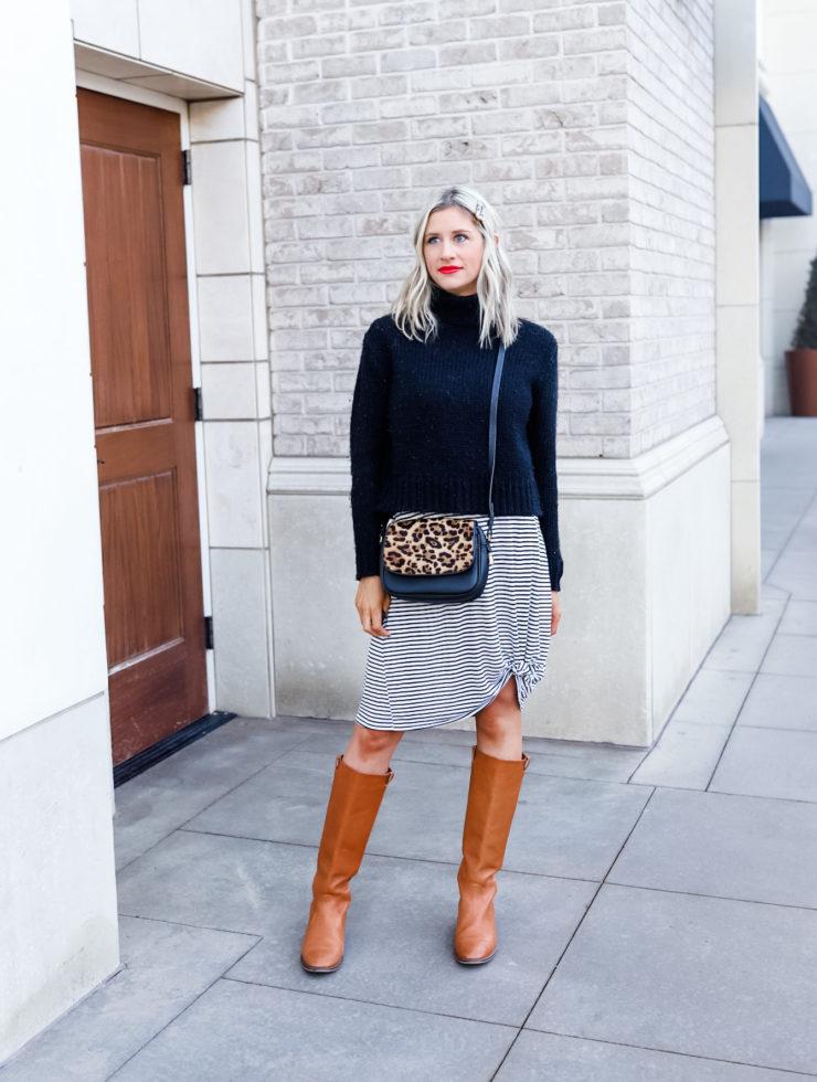 How to Wear a Black Turtleneck 5 Ways |Little Miss Fearless