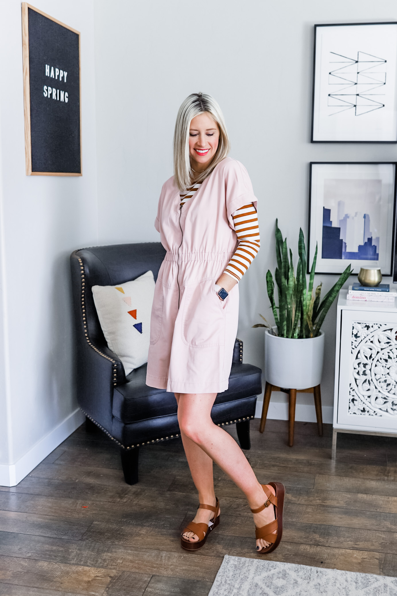 Spring Capsule Wardrobe Outfit Staples Under $40 | Little Miss Fearless