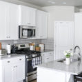 White Kitchen Makeover with Rocky Mountain Painters