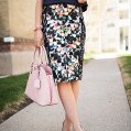 A Seriously Gram-Worthy Pencil Skirt
